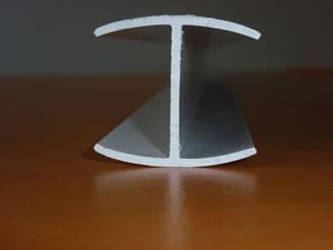 profilé H pvc rigide blanc, fabrication profilé plastique sur mesure