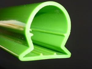 profilé polycarbonate diffusant sur mesure